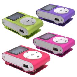 mp3 music player with digital lcd screen
