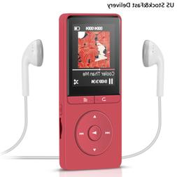 AGPtEK 8GB Mp3 Music Player with FM Radio & Recorder 70 hour