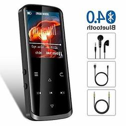 Mp3 Player,16GB Mp3 Player with Bluetooth,Built-in Speaker,P