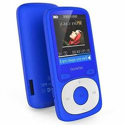 MP3 Player, Wiwoo 16GB MP3 Player with FM Radio Voice Record