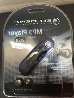 Element Electronics MP3 Player 2GB GC-822