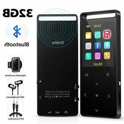 MP3 Player,32GB MP3 Player with Bluetooth,Portable Bluetooth