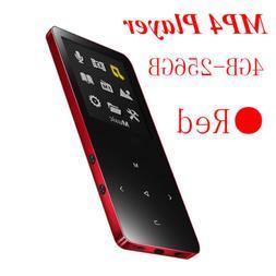 MP3 Player 8GB-256GB Bluetooth Walkman MP4 Player FM Radio M