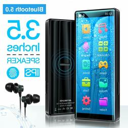 mp3 player 8gb full touch screen bluetooth