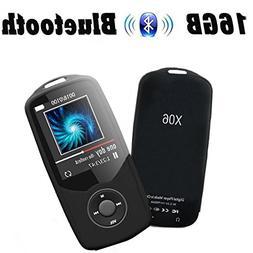 MP3 Player with Bluetooth,CFZC Bluetooth MP3 Player 16GB Por