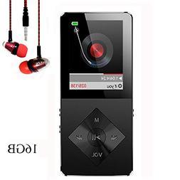 Mp3 Player, Hotechs Hi-Fi Sound, with FM Radio, Recording Fu