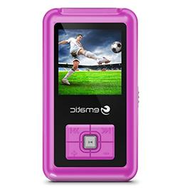 Ematic 8GB MP3 Video Player with FM Tuner/Recorder and 1.5-i