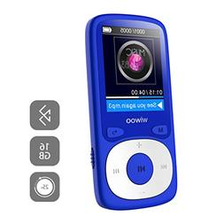MP3 Player with Bluetooth, 16GB Portable Audio Music Player