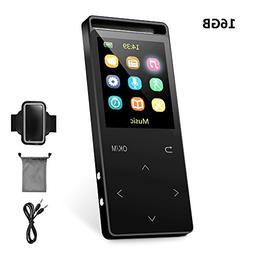 MP3 Player, popwoods Music Player 16GB Lossless Sound MP3 Pl