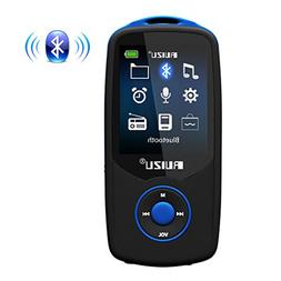 MP3 Player with Bluetooth, Built-in 8GB Memory Support TF Ca