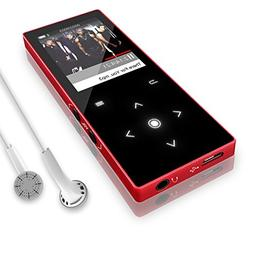 8GB MP3 Player with Bluetooth 4.0, Dansrueus Lossless HiFi S