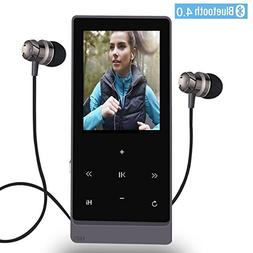 MP3 Player with Bluetooth,8GB Hi-Fi Lossless Sound Music Pla