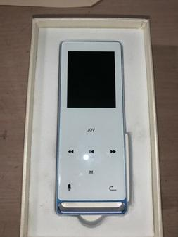 Mymahdi MP3 Player Bluetooth 16GB Blue Model M210