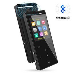 MP3 Player Bluetooth 16GB Music FM Radio/Recorder HiFi Lossl