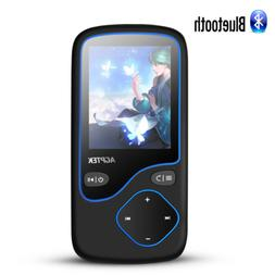AGPTEK MP3 Player Bluetooth 8GB Portable FM Radio Voice Reco