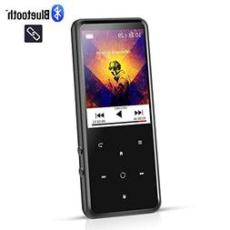 AGPTEK 16GB MP3 Player Bluetooth 4.0 with 2.4 Inch TFT Color