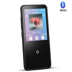 16GB MP3 Player with Touch Screen,AGPTEK Bluetooth 4.0 Lossl