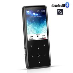 AGPTEK MP3 Player Bluetooth 8GB HIFI Touch Button with FM Ra