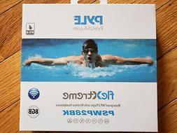 Pyle MP3 Player Bluetooth Headphone Waterproof Swim IPX8 8GB