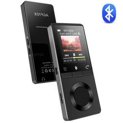 AGPTEK MP3 Player Bluetooth 16GB Versatile Music Player FM R