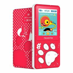 Wiwoo MP3 Player for Kids, MP3 Player with FM Radio, Video,