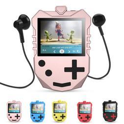 AGPTEK MP3 Player for Kids Portable 8GB Music Player FM Radi