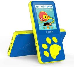 Wiwoo MP3 Player for Kids, Portable Music Player with FM Rad