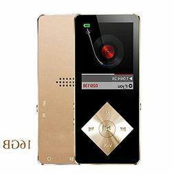 Mp3 player 16GB Hi-Fi Sound Portable Audio Player FM Radio R
