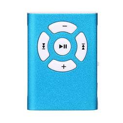 DATEWORK MP3 Player Mini Clip Sport Micro SD TF Card Music M
