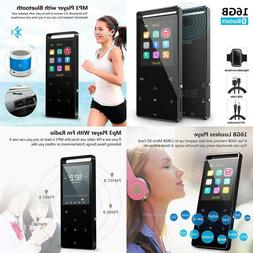 Mp3 Player,Mp3 Player With Bluetooth,16Gb Music Player With