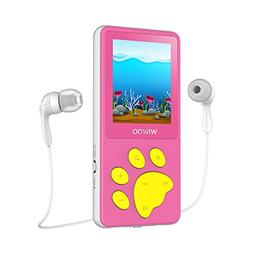 Aniee MP3 Player/MP4 Player, Kids MP3 Player with FM Radio/V