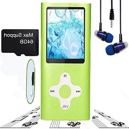 MP3 Player / MP4 Player, Hotechs MP3 Music Player Slim Class