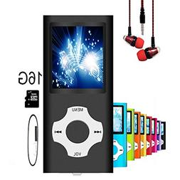 MP3 Player/MP4 Player, Hotechs MP3 Music Player with 16GB Me
