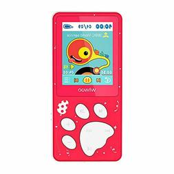 Wiwoo MP3 Player/MP4 Player, Kids MP3 Player with FM