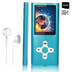 MP3 Player/Music Player,EVASA with a 16 GB Memory Card Porta