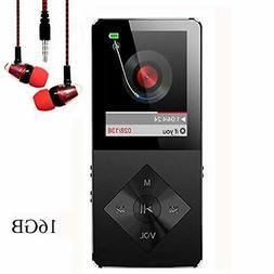 Mp3 Player, Music Player, Hotechs 16GB MP3 Player Hi-Fi Soun