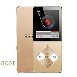 Mp3 Player, Hotechs Hi-Fi Sound FM Radio, Recording Function