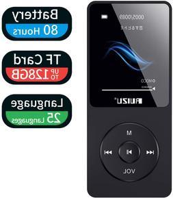 Mp3 Player, RUIZU X02 Ultra Slim Music Player with FM Radio,