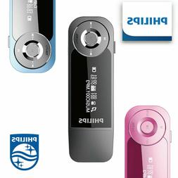 Philips Mini MP3 Player SA1208 Digital Media Player with Cli