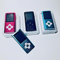 MP3 Player Ultra Slim Music MP4 Player FM Radio Voice Record