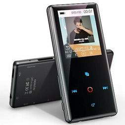wiwoo MP3 Player with Bluetooth, 16GB Portable Music Player
