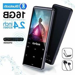 MYMAHDI MP3 Player with Bluetooth4.2,Touch Buttons with2.4in