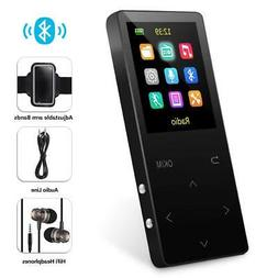 MP3 Player with Bluetooth, Grtdhx 8GB Portable Digital Music