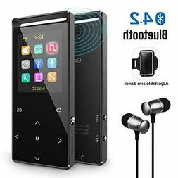 MP3 Player with Bluetooth, 8GB Portable Digital Music Player