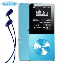 Mp3 player, Frehoy 8GB Portable MP3 Player, Music Player/Voi
