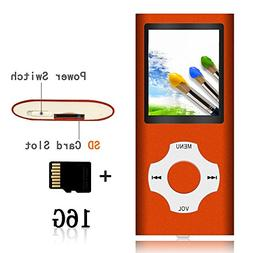 Tomameri - MP3 Video Player with Rhombic Button  - Orange