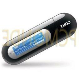 Coby MP3052G 2GB USB-Stick MP3 Player with LCD Screen and FM