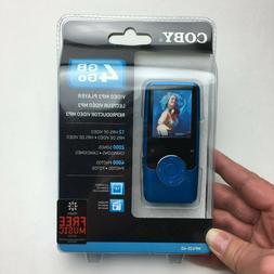 Coby MP620 Blue  Digital Media Player Brand New