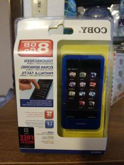 Coby MP828-8G Blue  Digital Media Player brand new factory s