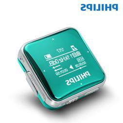 Philips Music MP3 Player 8GB Sport Clip Mini Stereo Walkman/